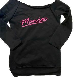 Retro 80s Skate Maniac Sweatshirt Dress